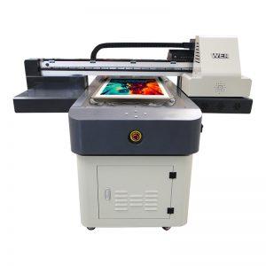 a4 големина дигитални УВ машина за печатење ПВЦ платно платно килим кожа печатач