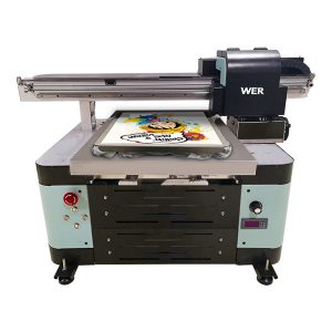 2018 нов дизајн Виетнам a2 dtg flatbed маичка печатач за парапери печатење