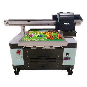 добра цена a2 flatbed мал УВ печатач со epson печатење главата