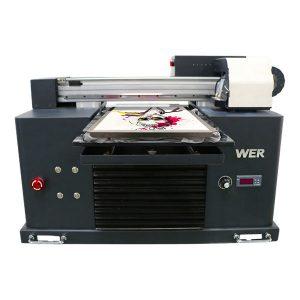 a4 dtg flatbed памучна ткаенина печатач маица машина за печатење