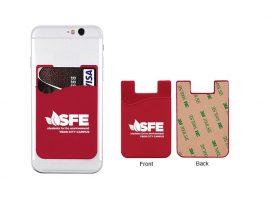 Лепливи мобилен телефон паричници