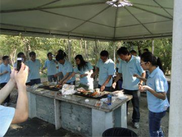 BBQ во Gucun Park, есен 2017