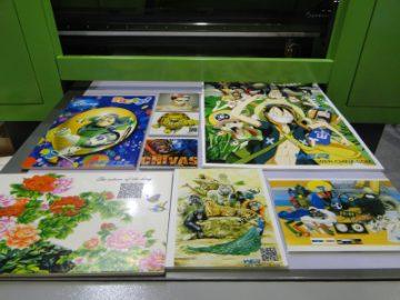 Печатење на керамички плочки