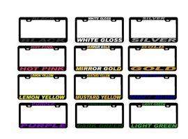 Рамки со регистарски таблички